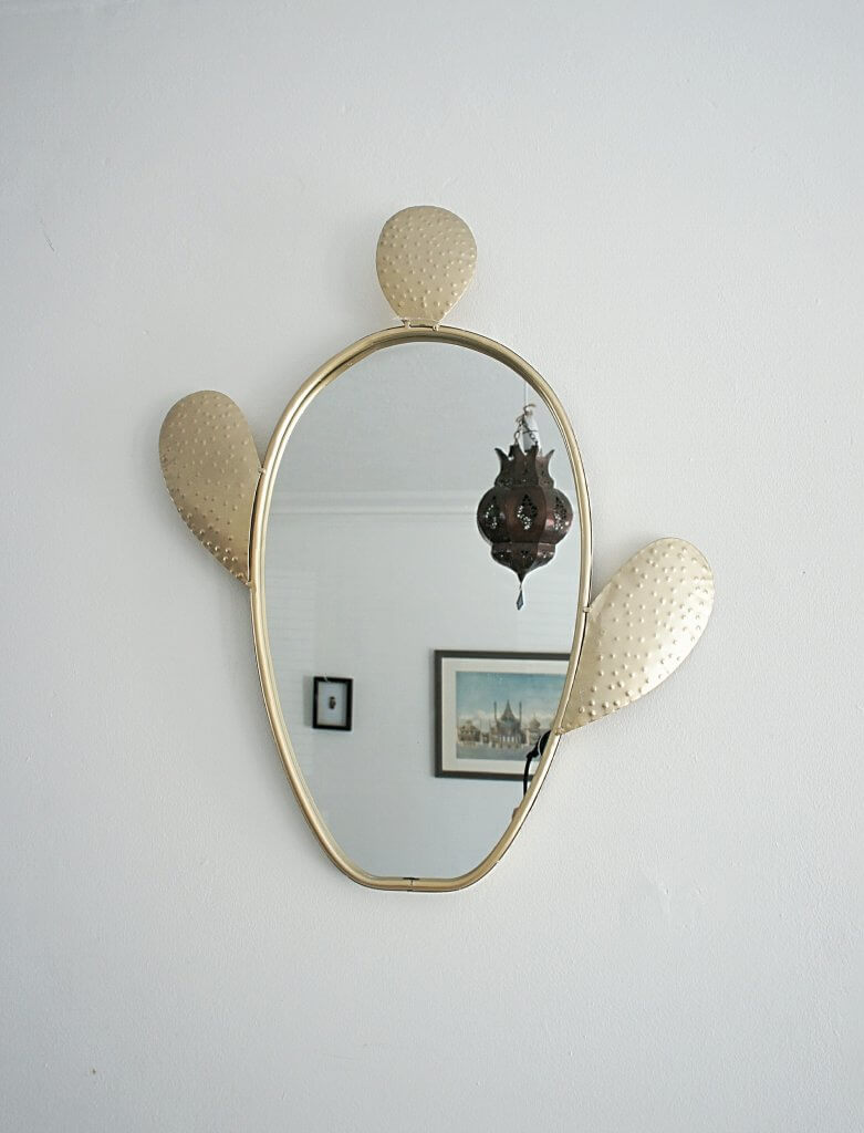 Gold Cactus Wall Mirror Last Day For Christmas Orders